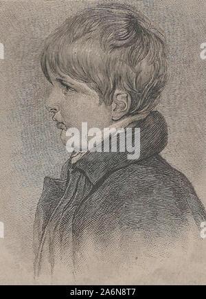 Napoleon II, Duke of Reichstadt, as a boy - Stock Photo