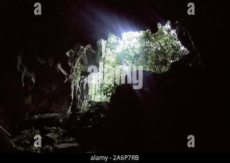 Cave in Vietnam - Stock Photo