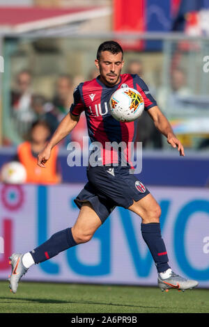 Bologna, Italy. 27th Oct, 2019. Nicola Sansone (Bologna) during the Italian 'Serie A' match between Bologna 2-1 Sampdoria at Renato Dall Ara Stadium on October 27, 2019 in Bologna, Italy. Credit: Aflo Co. Ltd./Alamy Live News Stock Photo