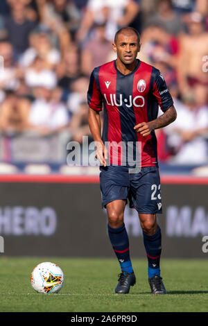 Bologna, Italy. 27th Oct, 2019. Danilo Langeria (Bologna) during the Italian 'Serie A' match between Bologna 2-1 Sampdoria at Renato Dall Ara Stadium on October 27, 2019 in Bologna, Italy. Credit: Aflo Co. Ltd./Alamy Live News Stock Photo