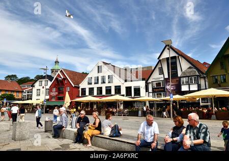 Stavanger Lunchtime - Stock Photo