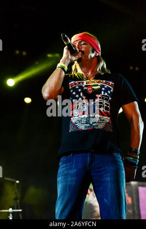Bret Michaels Band on stage at the Stagecoach Festival 2019 - Stock Photo