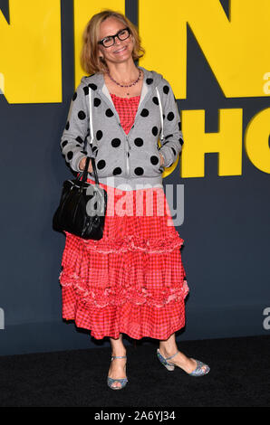 New York, NY, USA. 28th Oct, 2019. Amy Sedaris attends the Apple TV 's 'The Morning Show' World Premiere at David Geffen Hall on October 28, 2019 in New York City Credit: John Palmer/Media Punch/Alamy Live News - Stock Photo