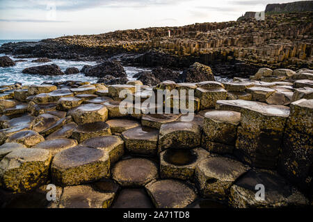 Giant's Causeway in Bushmills, Northern Ireland