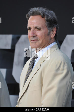 LOS ANGELES, CA - AUGUST 11, 2014: Frank Stallone at the Los Angeles premiere of 'The Expendables 3' at the TCL Chinese Theatre, Hollywood.© 2014 Paul Smith / Featureflash - Stock Photo