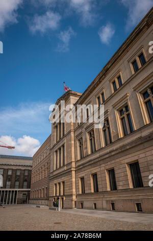 The Neues Museum on Museuminsul, Berlin, Germany - Stock Photo