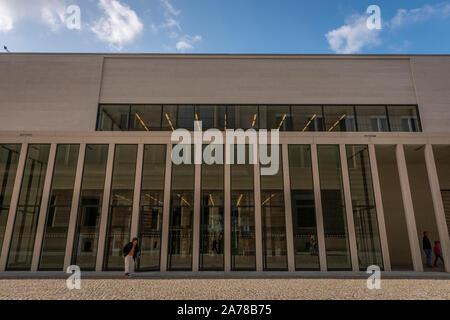 The James-Simon-Galerie on Museuminsul, Berlin, Germany - Stock Photo
