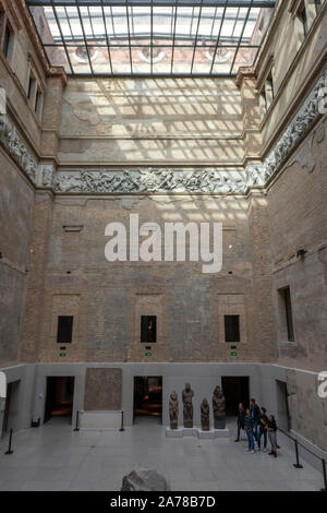 The Neues Museum on Museuminsul, Berlin, Germany - Stock Photo