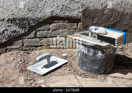 Builder - Handcraft working - Stock Photo
