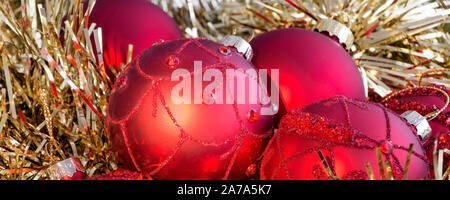 Christmas decoration banner - Stock Photo