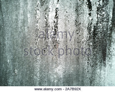 white wall and dirty for background - Stock Photo