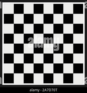 chess board sign. modern chess board background design. empty chess board. board game chess symbol. - Stock Photo