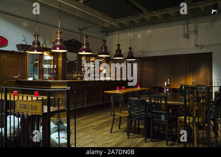 Ægisgarður, craft beer factory in Reykjavik, Icleand - Stock Photo