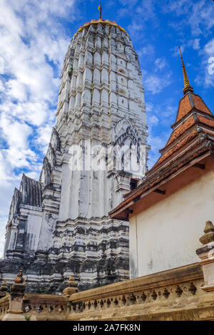 Wat Phutthaisawan temple in Ayutthaya, Thailand - Stock Photo