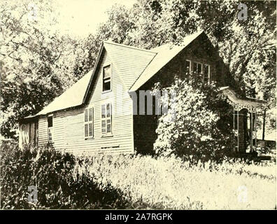 'Farmington, Connecticut, the village of beautiful homes' (1906) Stock Photo