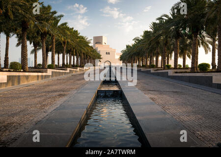 The Museum of Islamic Art in Doha, Qatar. - Stock Photo