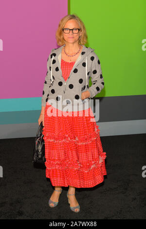 Amy Sedaris attends the Apple TV+'s 'The Morning Show' World Premiere at David Geffen Hall in New York City. - Stock Photo