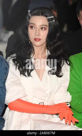 November 4, 2019, Beijing, China: Chinese actress FAN BINGBING attends a fashion event in Beijing, China. (Credit Image: © SIPA Asia via ZUMA Wire) - Stock Photo