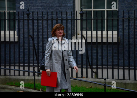 London, UK. 5th November 2019. leaving Downing Street after a Cabinet Meeting. Claire Doherty/Alamy Live News. - Stock Photo