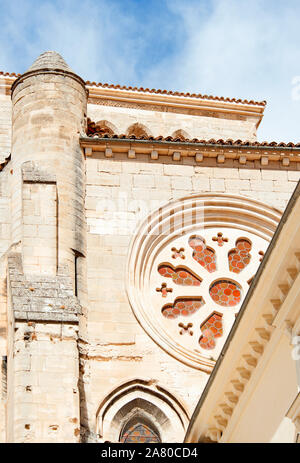 The cathedral window, Cuenca - Stock Photo