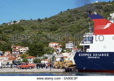 SKIATHOS SKOPELOS  GREECE ISLANDS LANDSCAPES - Stock Photo
