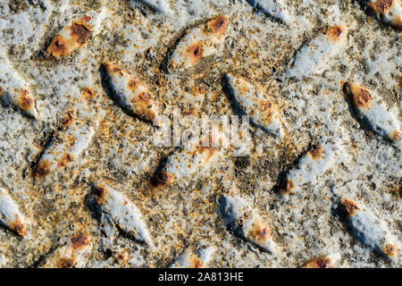 Rust-coloured metal surface - Stock Photo