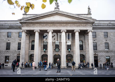 The General Post Office on O'Connell Street in Dublin, Ireland. - Stock Photo