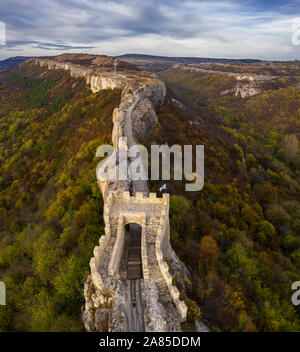 Fortress Ovech in the town Provadia, Bulgaria - Stock Photo