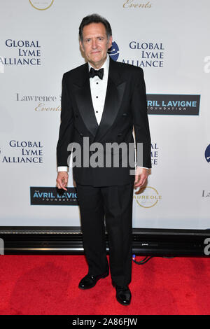 Victor Slezak. 5th Annual Global Lyme Alliance Gala, Arrivals, Cipriani 42nd Street, New York, USA - 10 Oct 2019 - Stock Photo