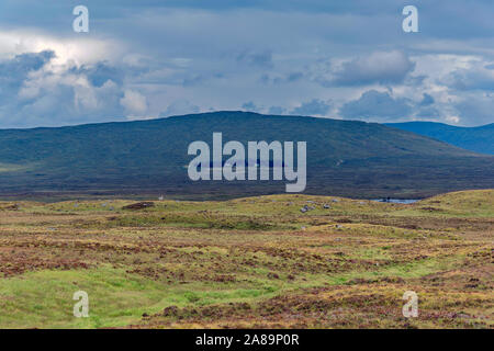 Rannoch Moor and Lodge on A82 out of Glencoe, Scotland - Stock Photo
