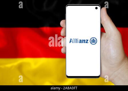 Allianz, Insurance Company, Frankfurt, Germany Stock Photo ...