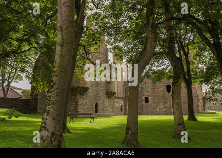 Earl's Palace in Kirkwall on Orkney, Scotland - Stock Photo