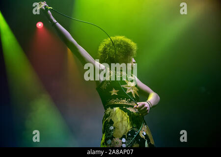 6th November 2019, Glasgow, UK. American rock band Greta Van Fleet bring their retro rock style to Glasgow's O2 Academy - Credit Stuart Westwood - Stock Photo