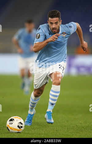 Rome, Italy. 07th Nov, 2019. Rome, Italy - November 07, 2019: Jony (LAZIO) in action during the Uefa Europa League Group E soccer match between SS Lazio and Celtic Glasgow, at Olympic Stadium in Rome. Credit: Independent Photo Agency/Alamy Live News - Stock Photo