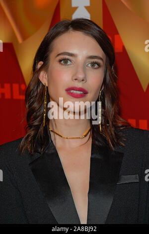 New York, United States. 07th Nov, 2019. Emma Roberts attends the Kohl's Opening Event at their 'New Gifts At Every Turn' pop-up in New York City. Credit: SOPA Images Limited/Alamy Live News - Stock Photo
