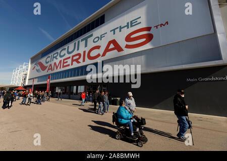 Circuit of the Americas, Austin Texas - Stock Photo