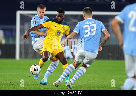 Jony of Celtic in action during the UEFA Europa League, Group E football match between SS Lazio and Celtic FC on November 7, 2019 at Stadio Olimpico in Rome, Italy - Photo Federico Proietti - Stock Photo