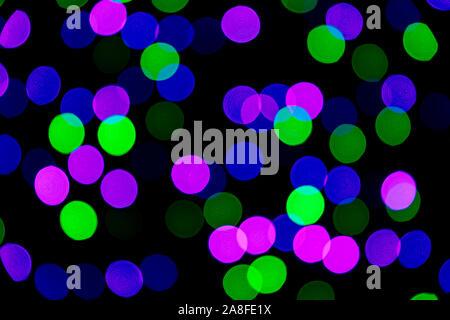 Abstract Light Pattern Background - Asheville, North Carolina, USA - Stock Photo