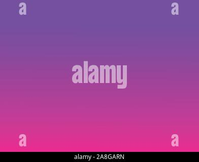 gradient abstract background. color transition wallpaper. plastic pink and proton purple background. 2019 Color Trends. plastic pink and proton purple - Stock Photo