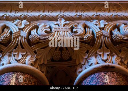 Vintage Old Column. Detail .Germany Berlin Europe. - Stock Photo