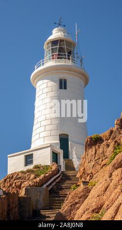 Corbiere Lighthouse, Jersey, Channel Islands, UK.