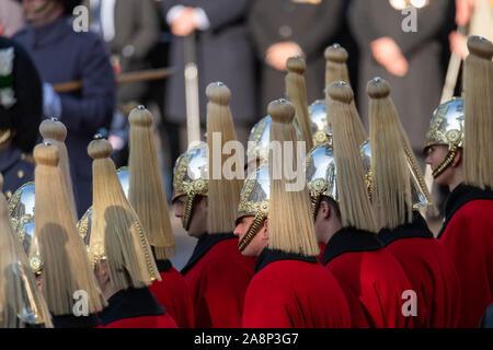London UK 10th Nov. 2019 Remembrance Sunday at The Cenotaph, Whitehall, London  Credit Ian DavidsonAlamy Live News - Stock Photo