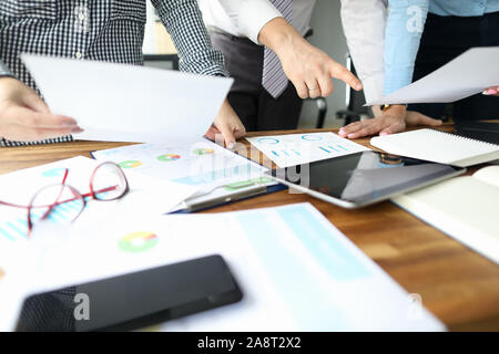 Office work environment - Stock Photo