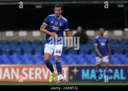 Emyr Huws of Ipswich Town - Ipswich Town v Lincoln City, The Emirates FA Cup first round, Portman Road, Ipswich, UK - 9th November 2019  Editorial Use Only - DataCo restrictions apply - Stock Photo