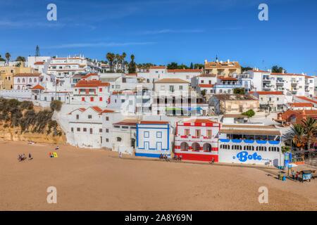 Carvoeiro, Lagoa, Algarve, Portugal, Europe - Stock Photo