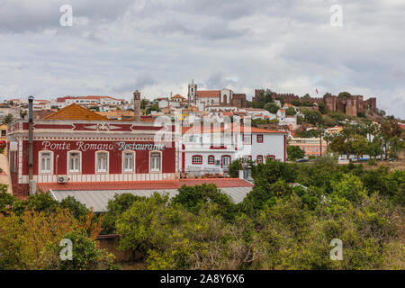 Silves, Algarve, Faro, Portugal, Europe - Stock Photo