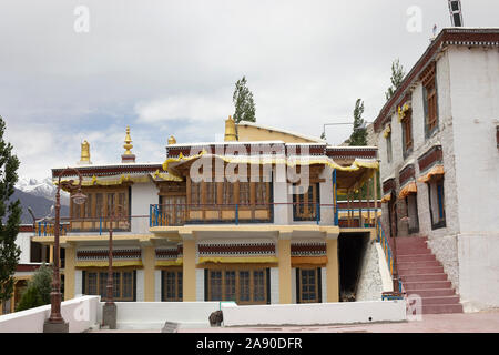 Sumur Monastery, Jammu and Kashmir, India - Stock Photo