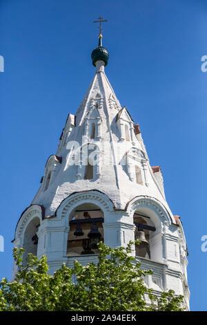 Tent Style Bell Tower, Pokrovsky Monastery; Suzdal, Vladimir Oblast,  Russia Stock Photo