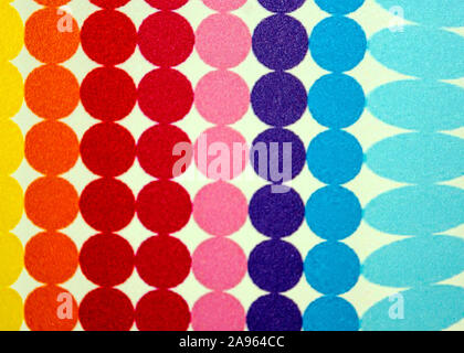Colored stripes texture - Stock Photo