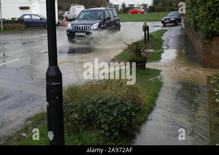 Flooding, South yorkshire - Stock Photo